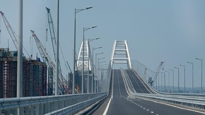 Украинские пограничники пропиарили Крымский мост