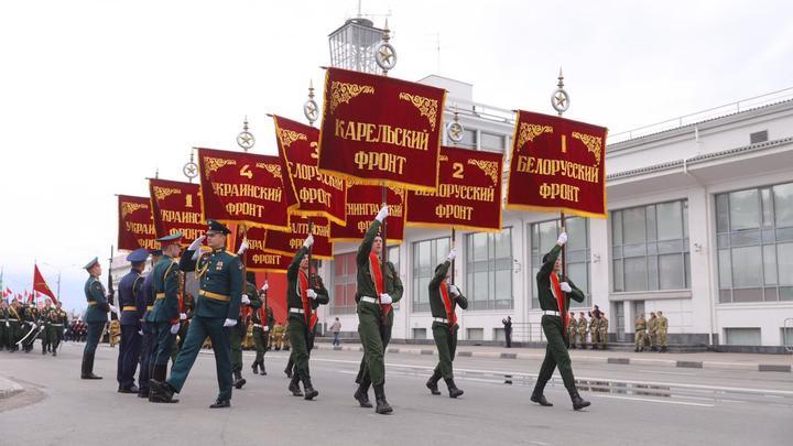 Парад Победы завершился в Нижнем Новгороде