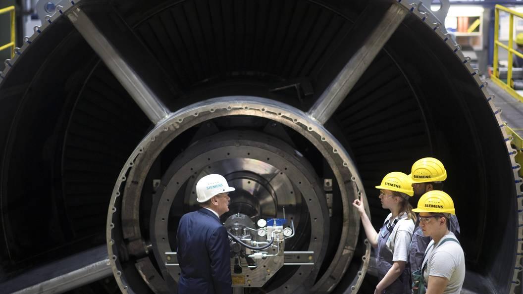 В Siemens назвали спекуляциями данные о возможном ограничении своей продукции в России