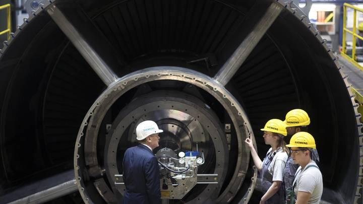 Siemens настаивает на выкупе турбин или возвращении их в Тамань