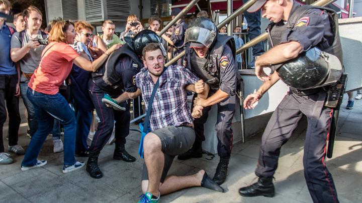 Петербург лидирует по числу задержанных в ходе акций протеста против пенсионной реформы