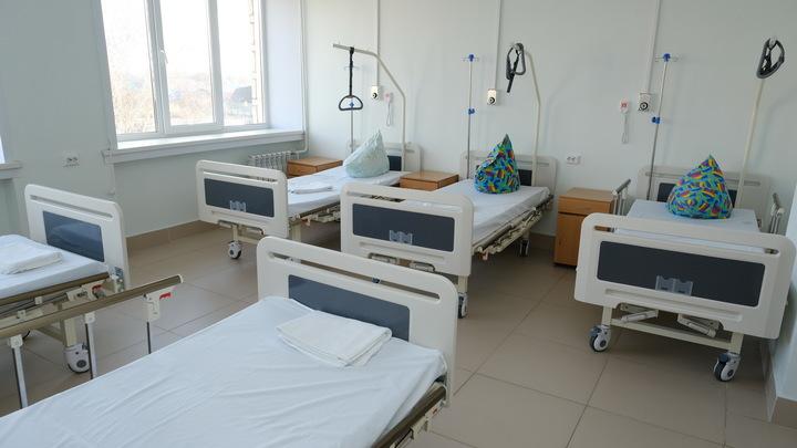 В Новосибирске пациенты ковидного госпиталя устроили акцию протеста