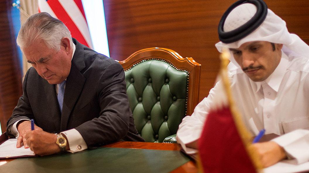 Катар сможет откупиться от США только газом и футболом
