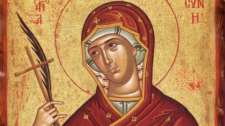 Преподобная Евфросиния Александрийская. Православный календарь на 28 февраля