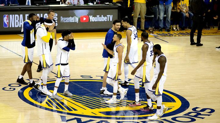 Голден Стэйт Уорриорз защитил чемпионство НБА