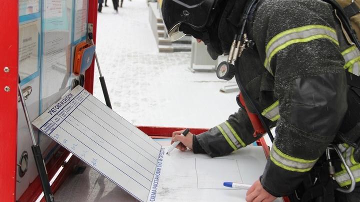 Взрыв резервуаров с топливом в Новой Москве. Улица перекрыта - источник