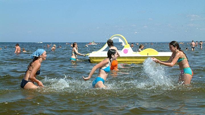 Вода на курортах Черного моря прогреется во второй половине июня