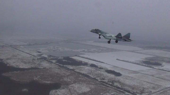 Трусливо поджав хвост: СМИ рассказали, почему американский F-22 бежал от российского Су-35