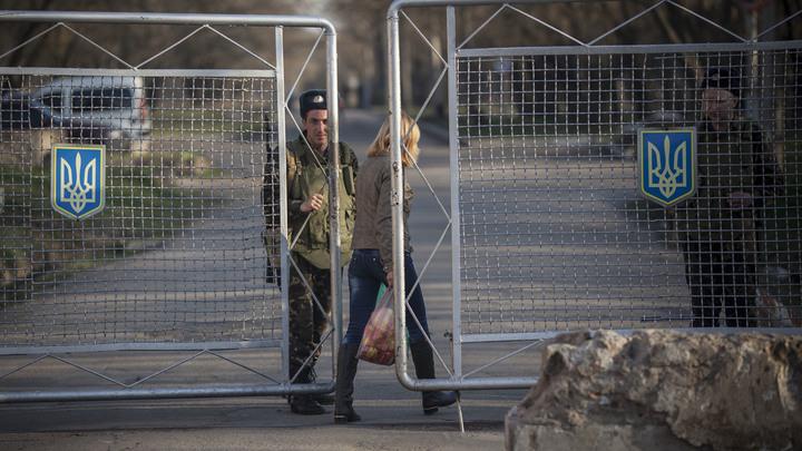 Киев отчитался об открытии границы с Крымом
