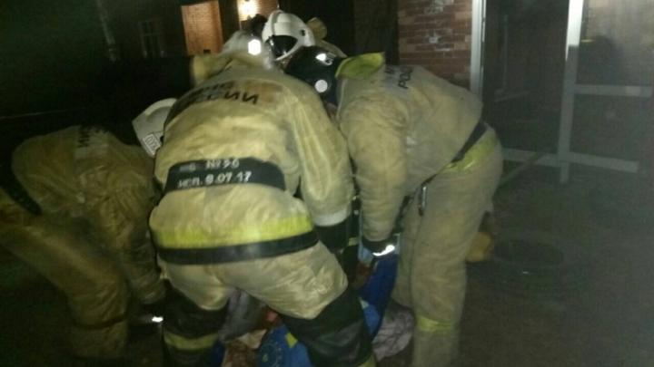 Площадь пожара в подмосковном торговом центре составила 600 кв.м