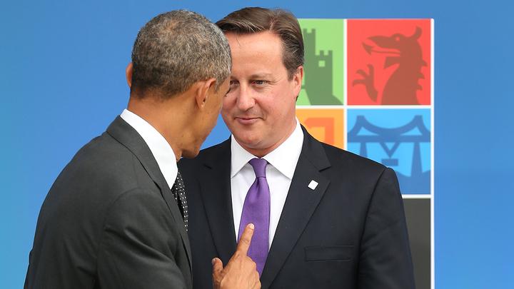 США давят на Великобританию