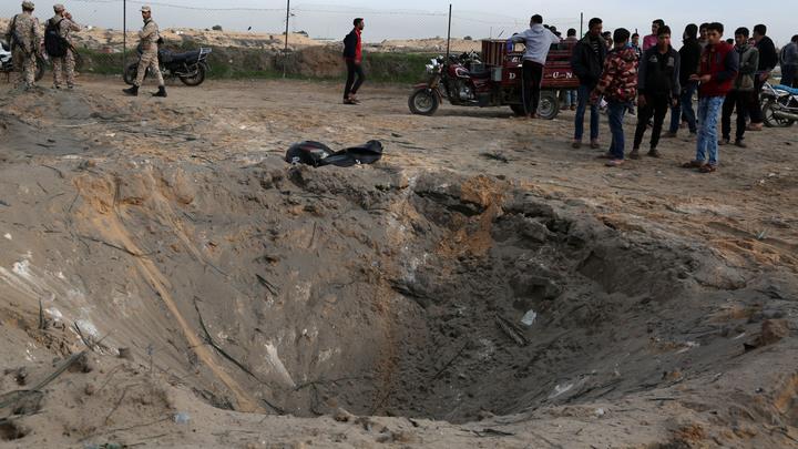 Израиль отомстил ХАМАС за воскресные бомбардировки