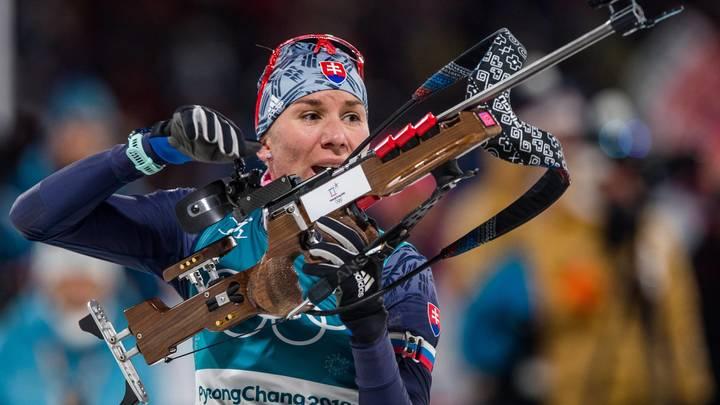 Словацкая биатлонистка Анастасия Кузьмина боялась неудачного старта на ОИ-2018 из-за недопуска брата Антона Шипулина