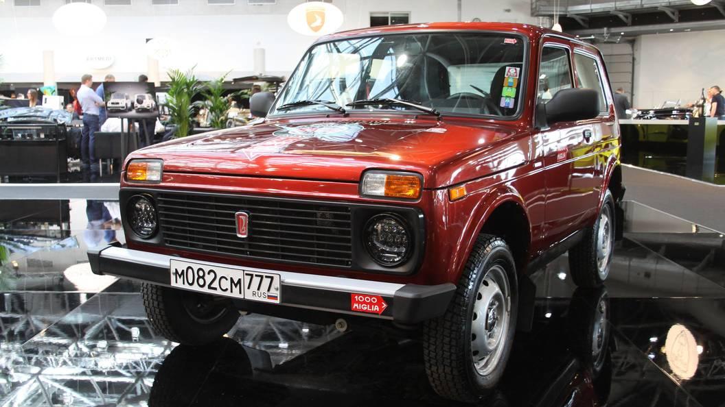АвтоВАЗ отзывает партию внедорожников Lada 4х4 из-за провода