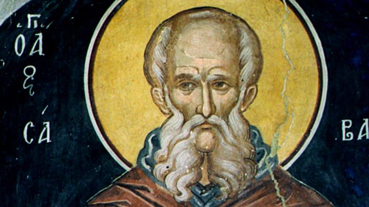 Преподобный Савва Освященный. Православный календарь на 18 декабря