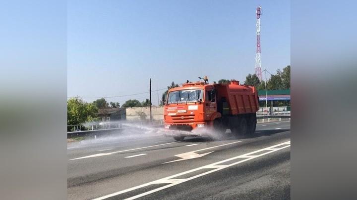 В Челябинской области запретили движение фур по федеральным трассам