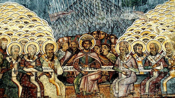 Память святых отцев семи Вселенских Соборов. Православный календарь на 31 мая