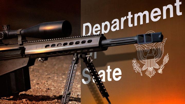 Американские винтовки Barrett посеют смерть в Донбассе
