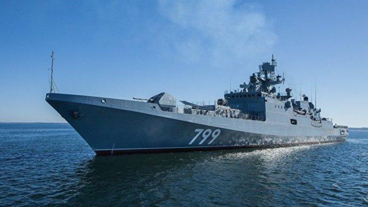 «Адмирал Макаров» поразил«Калибром» условного противника ивзял курс на черноморские проливы