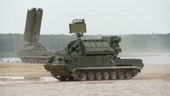 Появилось видео испытания нового зенитно-ракетного комплекса Тор-М2ДТ