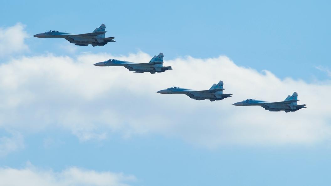 Су-30МС сбил крылатую ракету над Черным морем