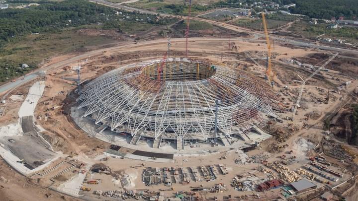 Затянувшаяся стройка стадиона к ЧМ-2018 в Самаре обернулась грандиозными хищениями