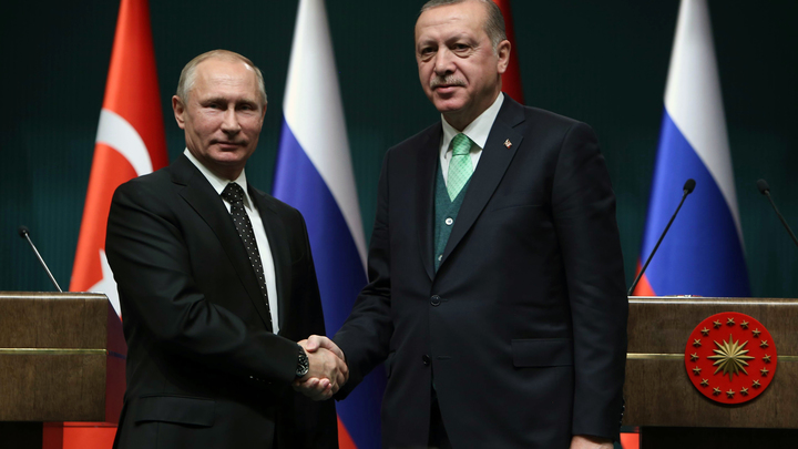 Сирия близка к миру: Путин и Эрдоган сверили свои позиции по Африну и Идлибу