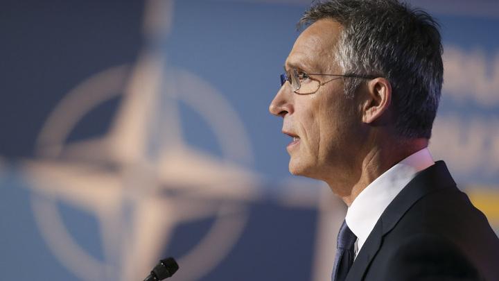 Генеральный секретарь  НАТО после встречи сЛавровым выступил запрямой разговор  сРоссией