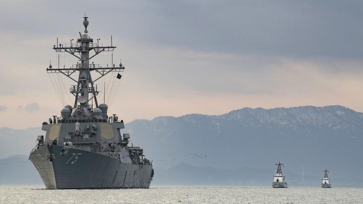 Военные корабли США прибудут к побережью Крыма под предлогом военных учений с Украиной