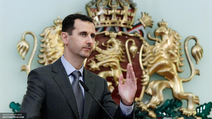 Путин поздравил Асада и народ Сирии с Днем независимости