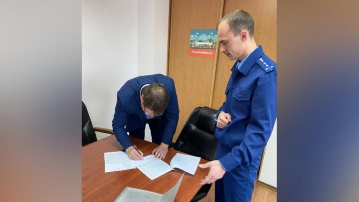 Первого заместителя главы Новокузнецка предупредили о возможном наказании