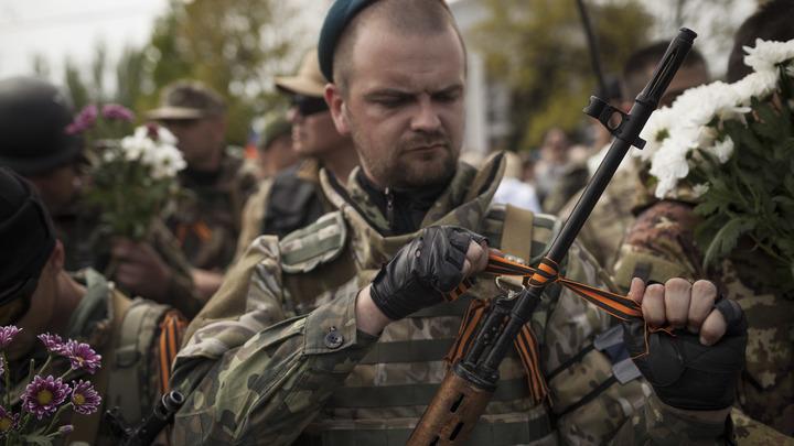 Ополченцы ДНР сбили украинский разведывательный беспилотник Фантом