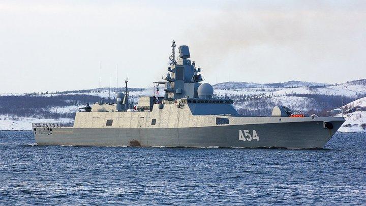 Проход фрегата Адмирал Горшков в порт Циндао впечатлил китайские СМИ