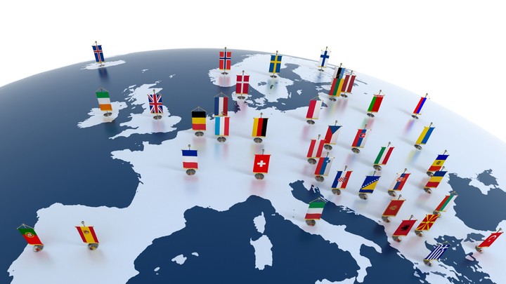 Линии геополитических противоречий в Европе