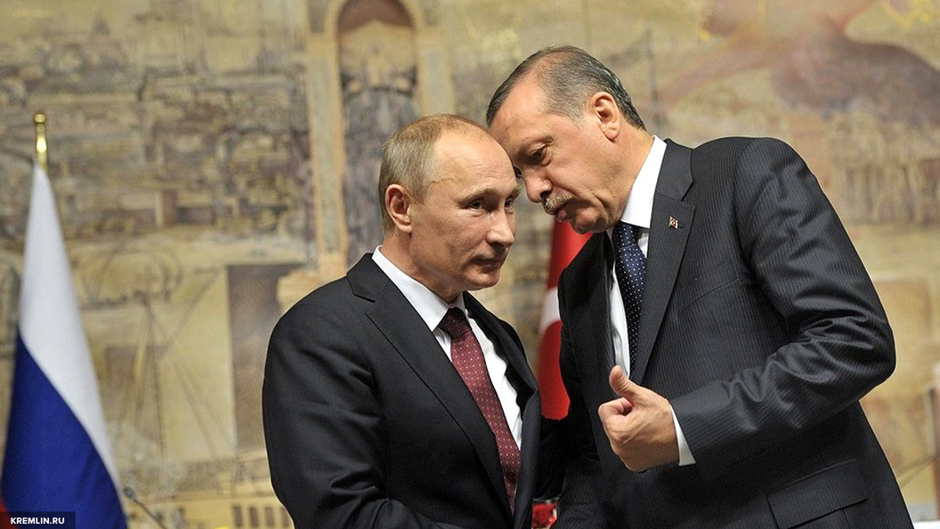 Путин и Эрдоган высказались за скорейшее проведение расследования химатаки под Идлибом