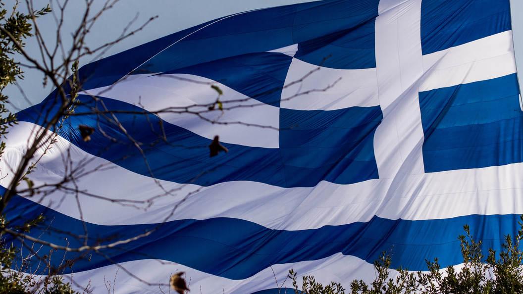 Намитинге вГреции сожгли флаг США