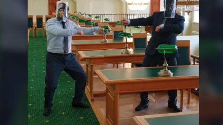 Фаталити. Российская национальная библиотека нанесла удар по Тик-Току дракой в стиле Mortal Kombat