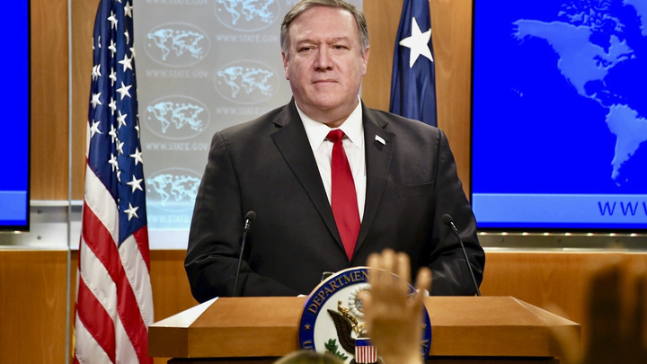 В сенате Помпео указали, что по той логике, по которой Голаны были признаны израильскими, США могут претендовать на часть Ирака