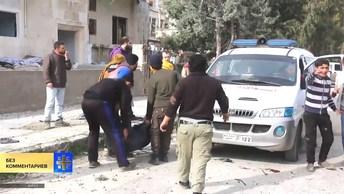 В Сирии погибли 24 человека при обстреле Дамаска боевиками