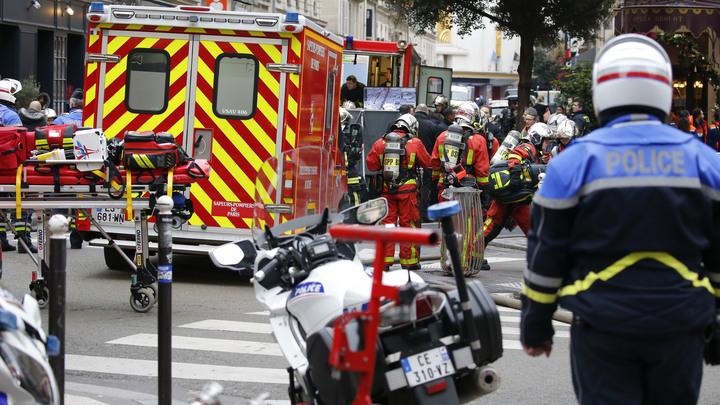 Четыре человека погибли при взрыве газа в пекарне Парижа