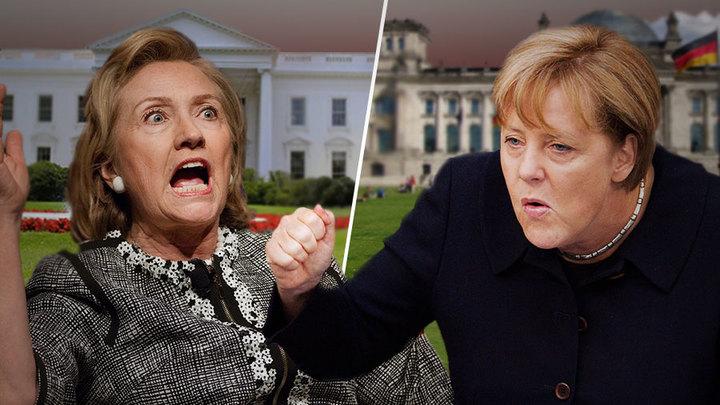 Меркель хочет отомстить Трампу за Клинтон