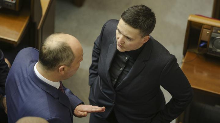 Надежда Савченко рассказала, чего боится Порошенко