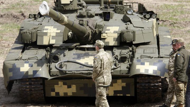 Украинские Т-84 опозорились на танковом биатлоне в Германии