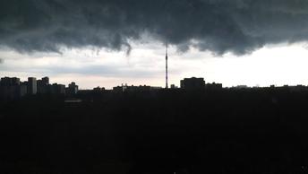 Москвичей снова предупреждают о шторме