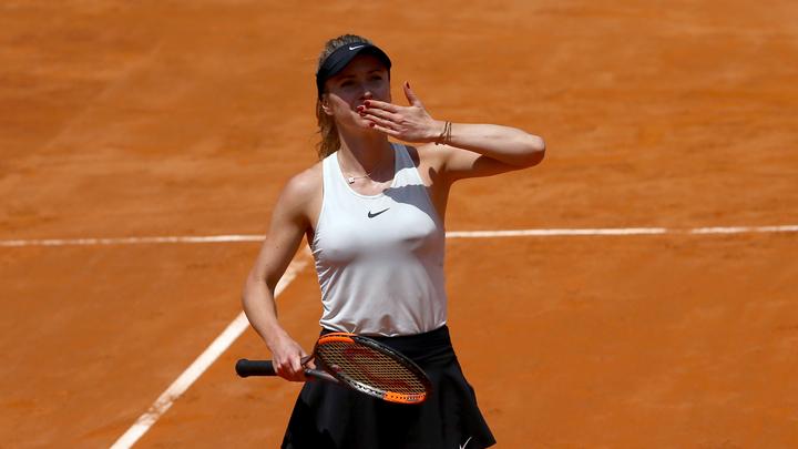 Украинка Элина Свитолина защитила титул в Риме