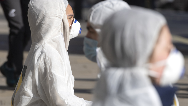 Учёные назвали срок жизни коронавируса на медицинских масках