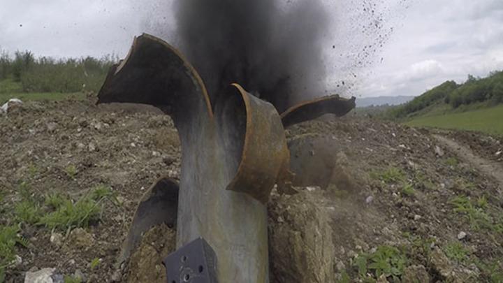 Больше сотни мин и снарядов каждый день уничтожают миротворцы России в Карабахе