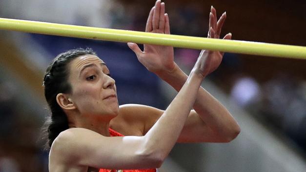 Российская прыгунья в высоту Ласицкене выиграла соревнования в Польше