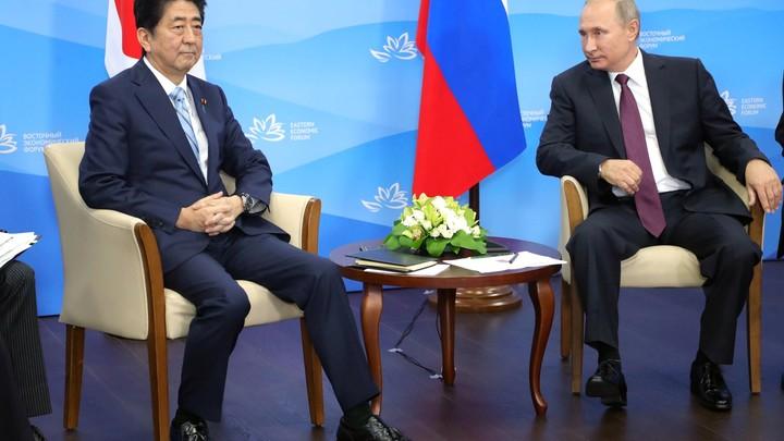 Синдзо Абэ согласился посетить Россию по предложению Путина