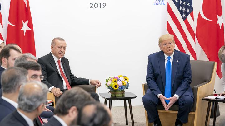 Подробности беседы почти неизвестны: Эрдоган позвонил Трампу